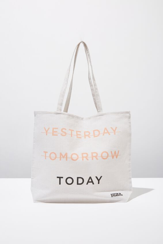 Typo Difference Tote Bag, TODAY
