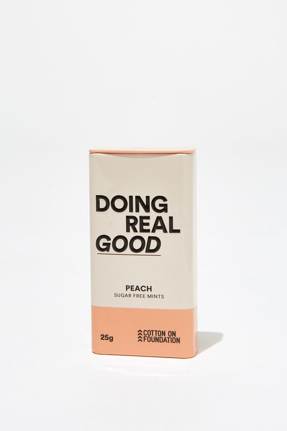The 100% Difference Mints, PEACH