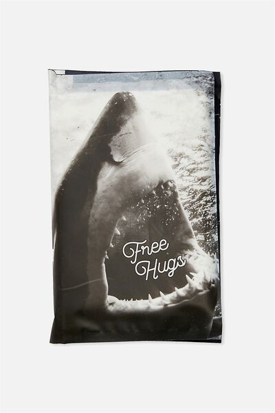 Typo Difference Tissues, FREE HUGS SHARK