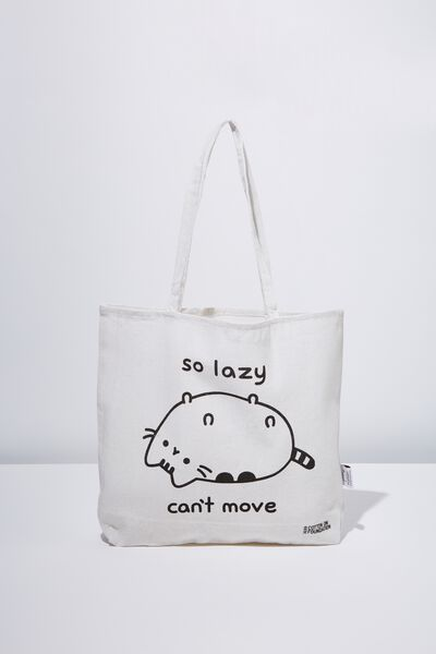 Typo Difference Tote Bag, LCN PUSH PUSHEEN