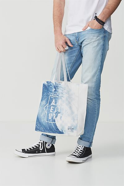 Typo Difference Tote Bag, ADVENTURE