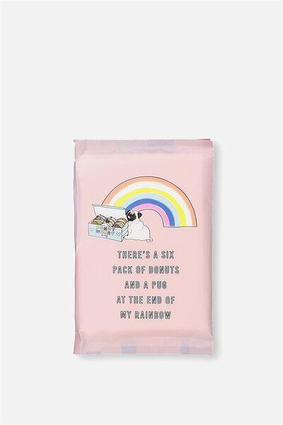 Typo Difference Tissues, RAINBOW PUG