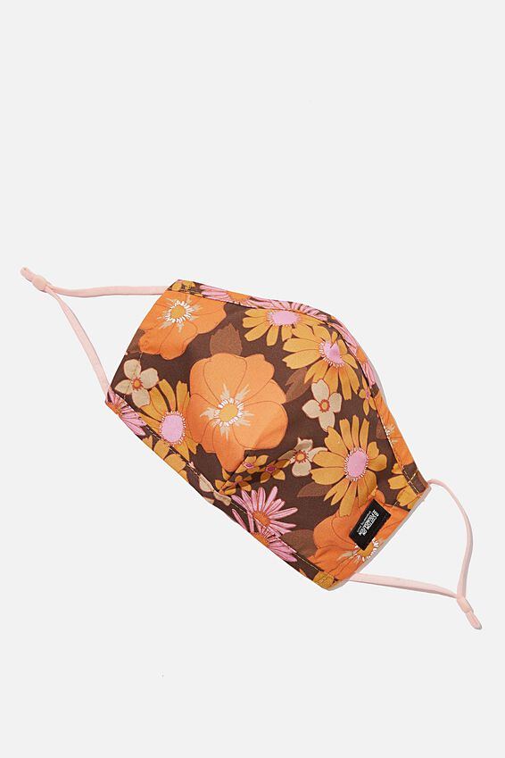 Foundation Face Mask Adults, 70 S FLORAL