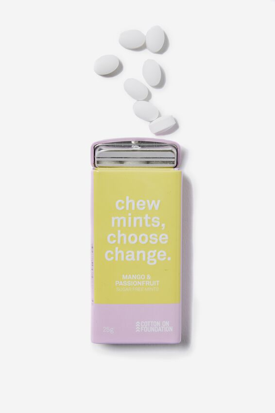 The 100% Difference Mints, ORCHID BLOOM/MANGO & PASSIONFRUIT