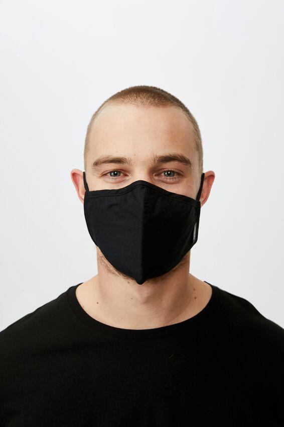 Foundation Face Mask Adults, BLACK