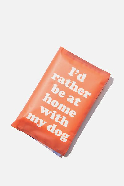 Typo Difference Tissues, ID RATHER BE AT HOME WITH MY DOG