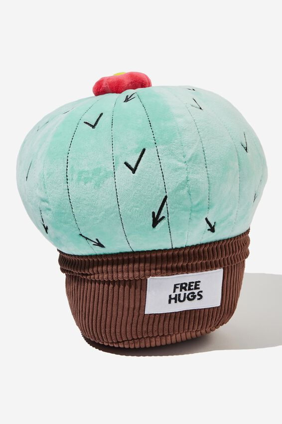 Get Cushy Cushion, FREE HUGS CACTUS