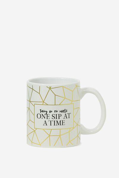 Anytime Mug, ONE SIP AT A TIME