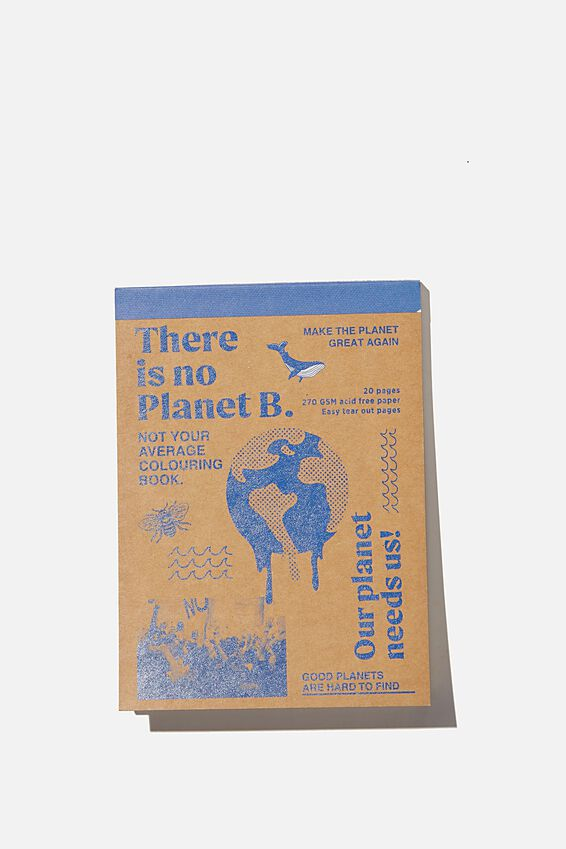 Artists Assistant Post Card, PLANET B