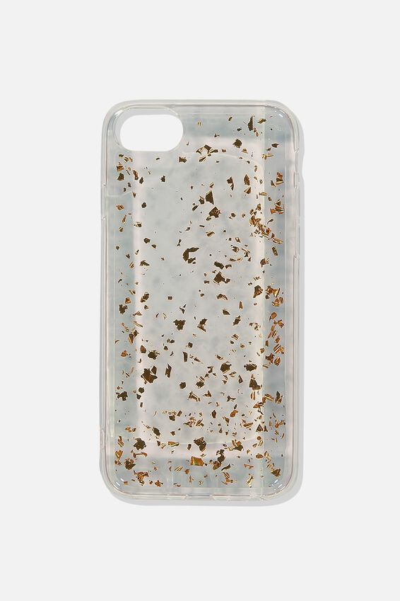 Printed Phone Cover Universal 6,7,8, ROSE GOLD FOIL