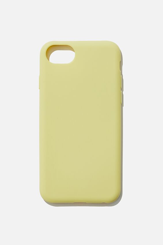 Recycled Phone Case iPhone 6, 7 ,8, SE, LEMON LIME