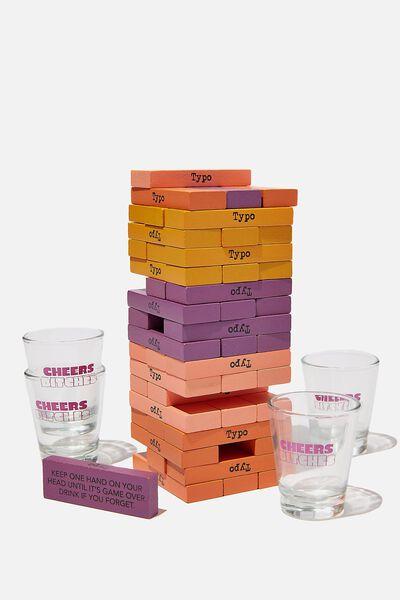 Drinking Tower Game, PINK