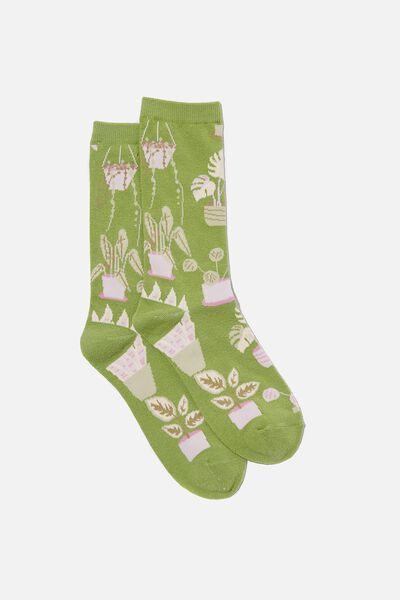 Socks, PLANT LOVER