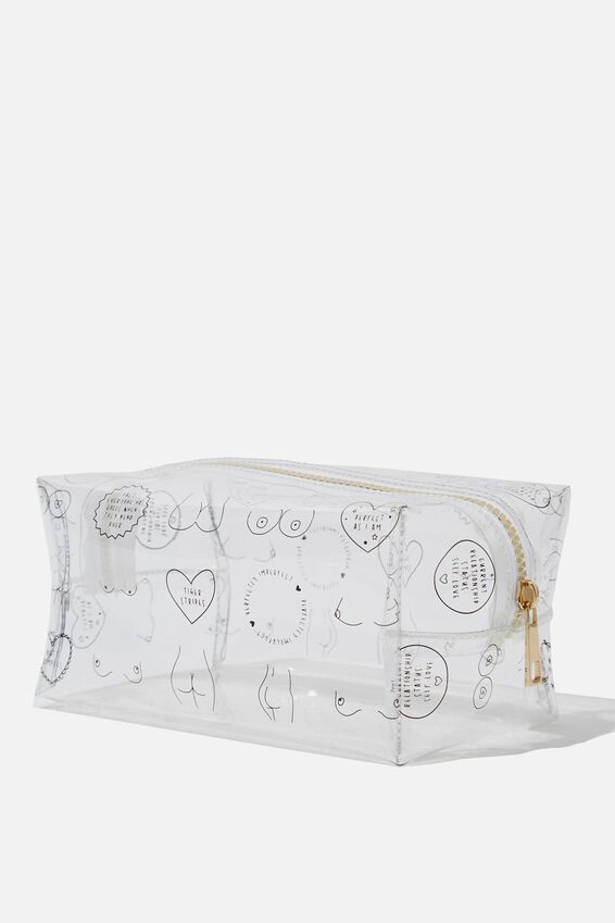 Made Up Cosmetic Bag, BITS YDG