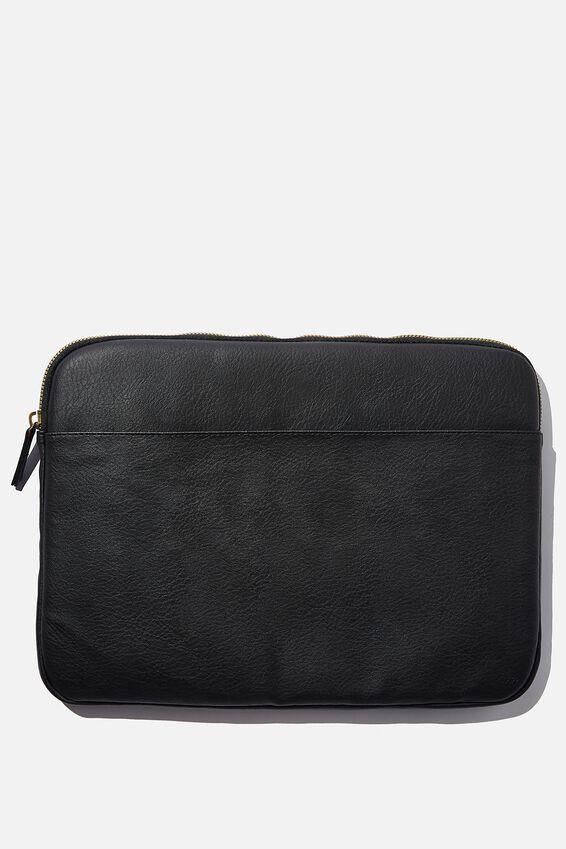 Core Laptop Cover 15 Inch, JETT BLACK