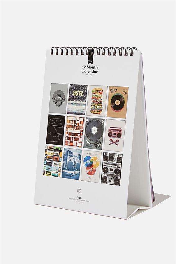 2021 Get A Date Flip Calendar, TBAR MUSIC
