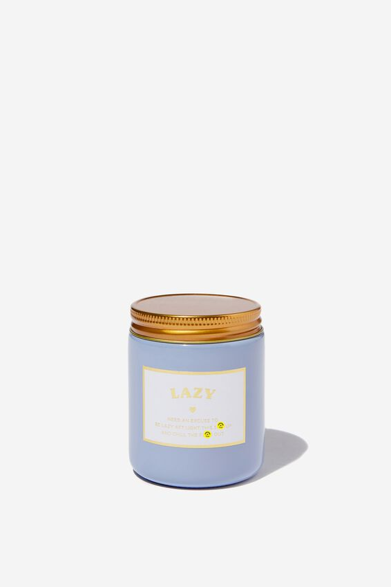 Cashmere Wood and Spice Candle, LAZY AF!!