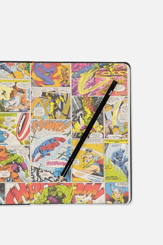 A5 Marvel Buffalo Journal, LCN MAR MARVEL LOGO