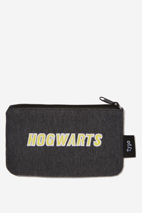 Harry Potter Canvas Pencil Case, LCN WB HP HOGWARTS PLACEMENT