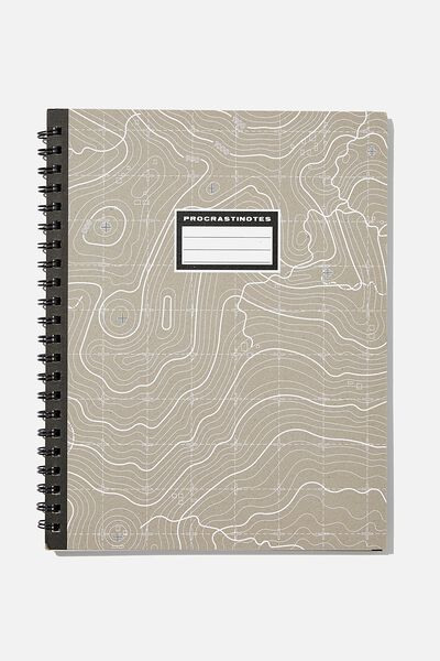 A4 Campus Notebook Recycled, PROCRASTINOTES