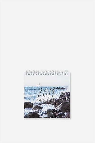 2019 Flip Desk Calendar, WATER TRAVEL
