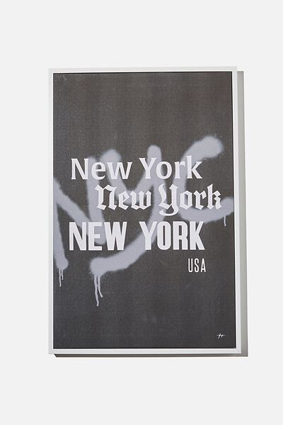 40 X 60 Canvas Art, NEW YORK
