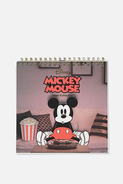 2020 Get A Date Flip Desk Calendar, LCN DIS MICKEY