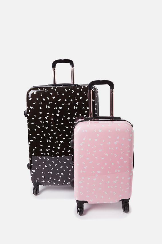 Suitcase Luggage Bundle, FLORAL