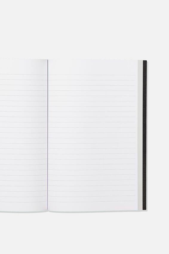 A5 Marvel Textured Notebook, LCN MARVEL LOGO