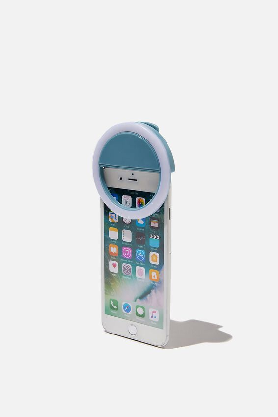 Selfie Phone Ring Light, DUSTY BLUE