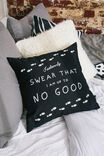 Harry Potter Square Cushy Cushion, LCN WB HP MISCHIEF MANAGED