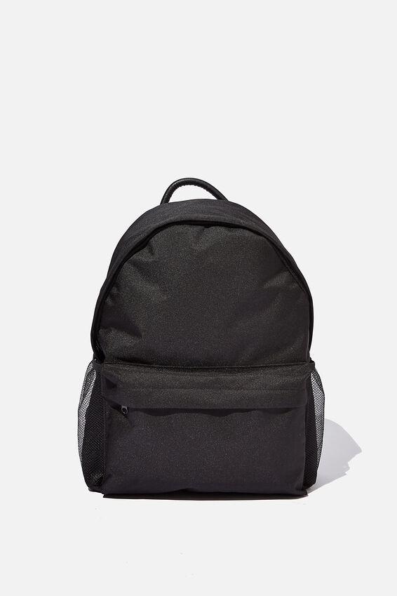 Fundamental Backpack, BLACK CANVAS