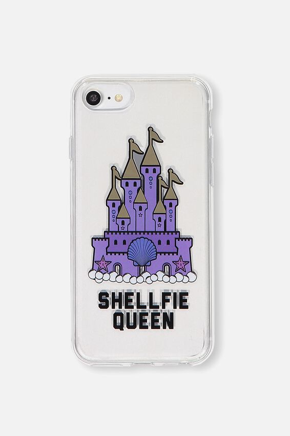 Printed Phone Cover Universal 6,7,8, SHELLFIE QUEEN