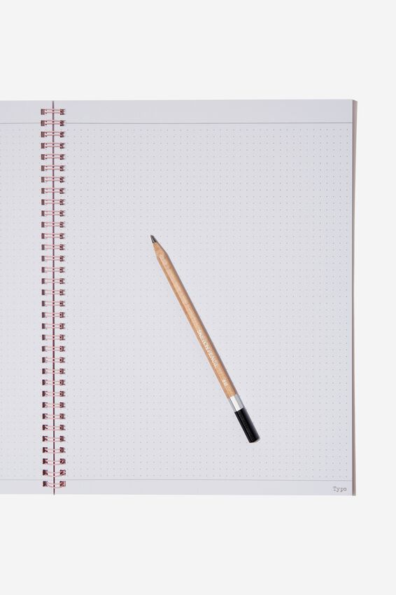 A4 Spinout Notebook Dot Page, DO WHAT MAKES YOU HAPPY