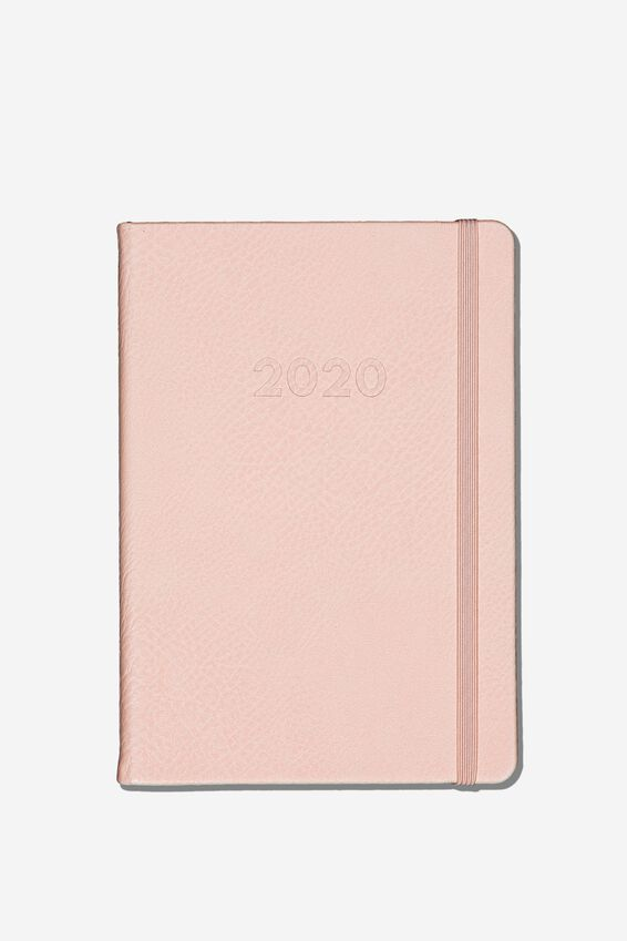 2020 A5 Weekly Buffalo Diary, BLUSH
