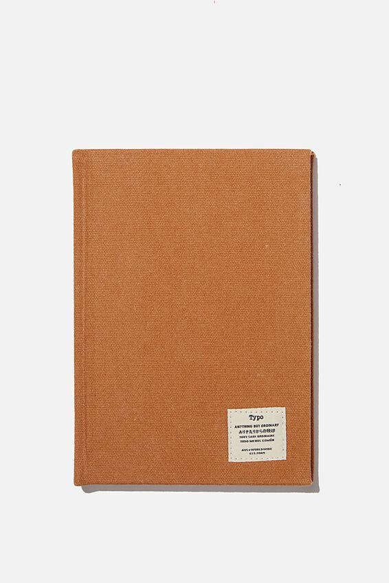 A5 Sketch Notebook, MID TAN