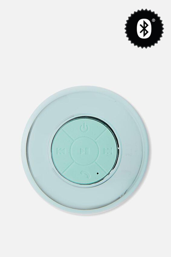 Shower Speaker, SHINY BLUE