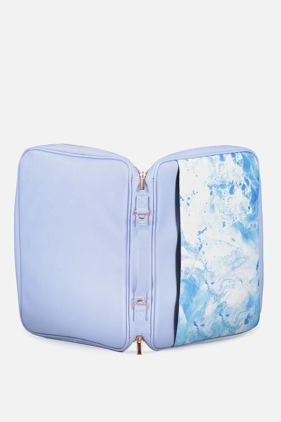 Mobile Laptop Folio, BLUE MARBLE