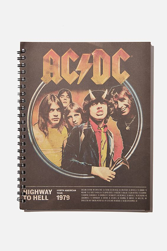 A4 ACDC Campus Notebook Recycled, LCN PER ACDC