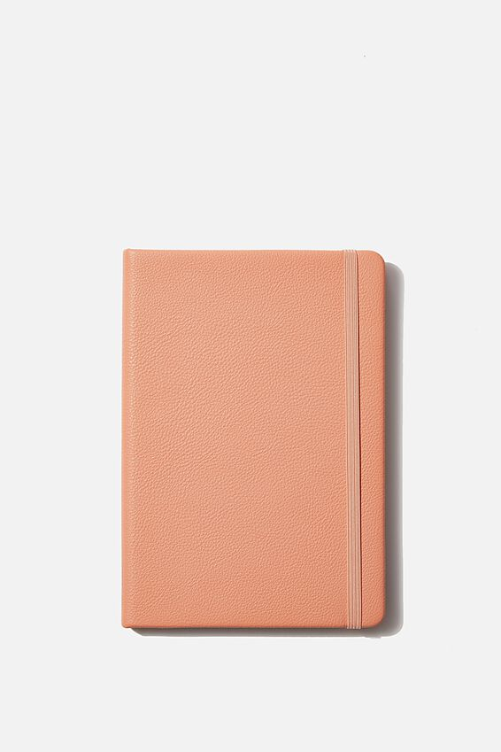 A5 Dot Buffalo Journal, PEACH