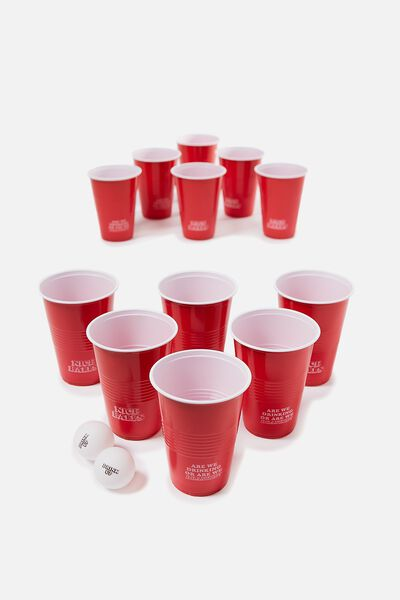Beer Pong Game, DRANKIN'