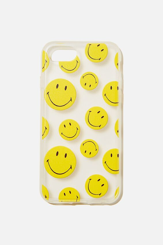 Smiley Protective Phone Case 6, 7, 8, SE, LCN SMI SMILEY YDG