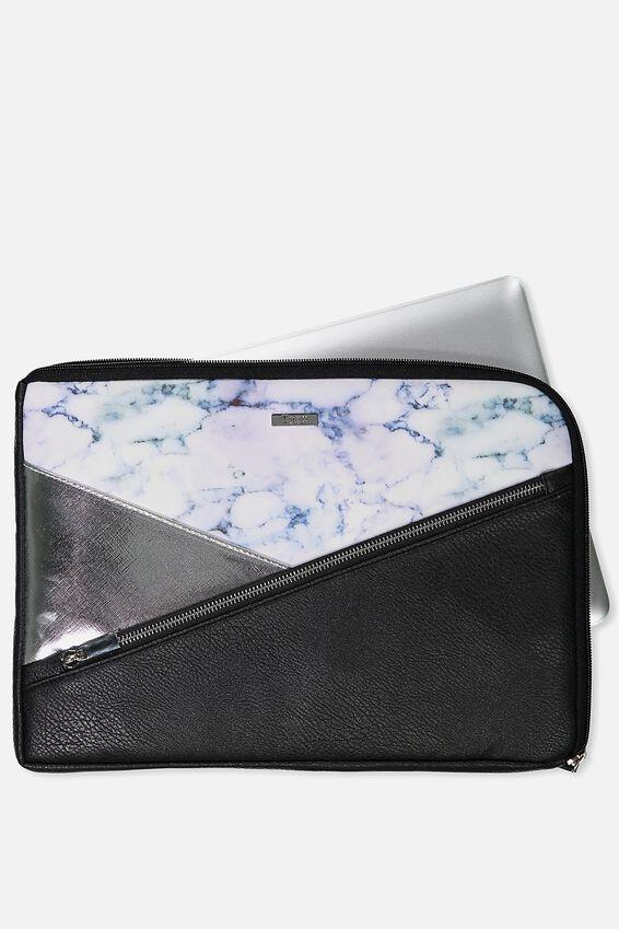 Premium Laptop Case 13 inch, LUSH MARBLE