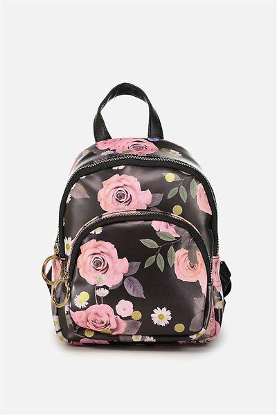Mini Madrid Backpack, POLKA FLORAL