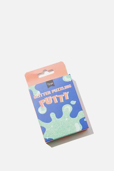 Puzzling Putty, GLITTER PUTTY