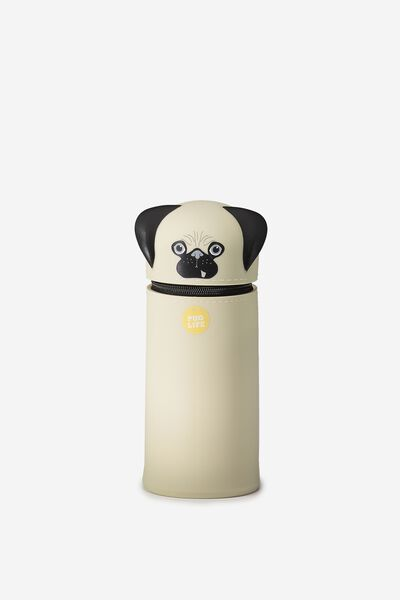 Standing Pencil Case, PUG