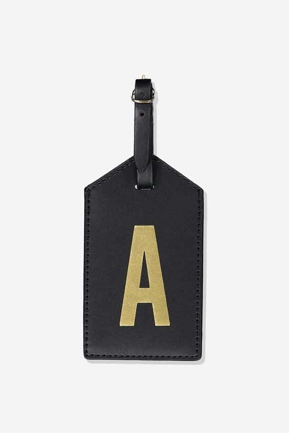 Alpha Luggage Tag, A