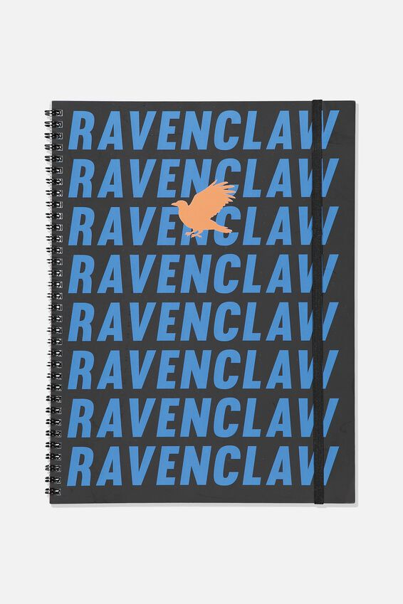 Harry Potter A4 Spinout Notebook - 120 Pages, LCN WB HP RAVENCLAW