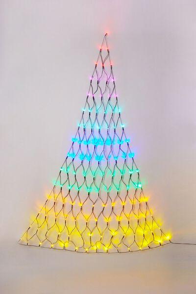 Light Up Christmas Tree, BRIGHT MULTI