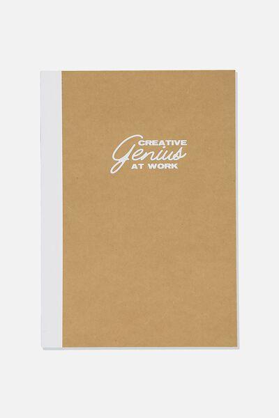A4 Sketch Mate Book, CREATIVE GENIUS AT WORK